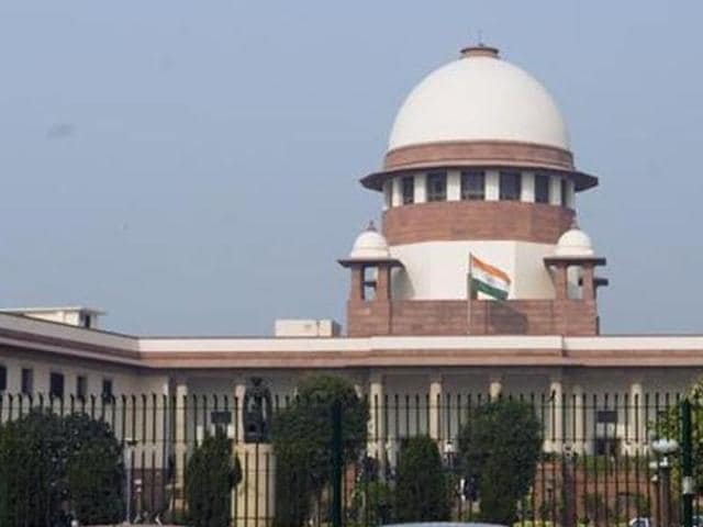File photo of Supreme Court of India.