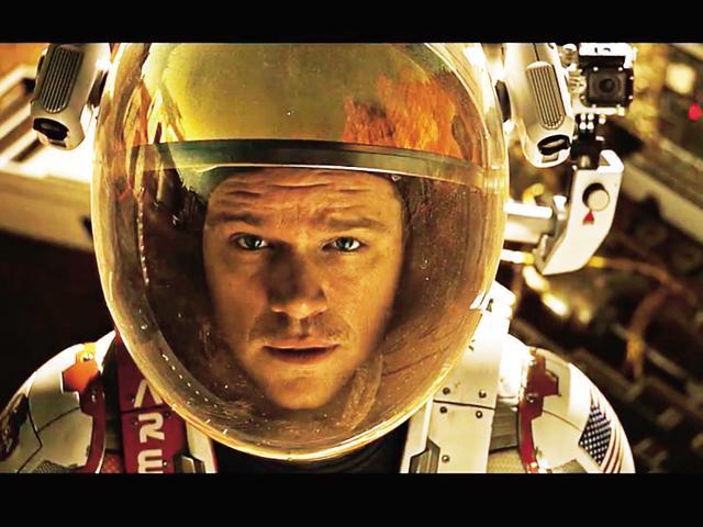 Interstellar,Gravity,The Martian