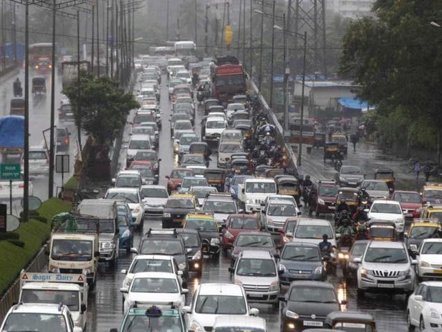 Mumbai,Traffic jams,BMC study