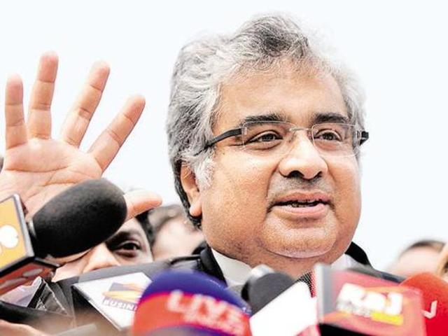 File photo of senior advocate Harish Salve.