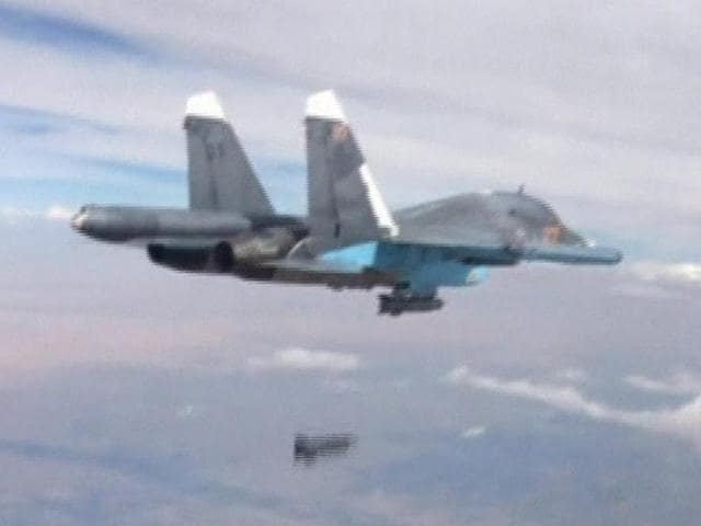 Russia air strikes