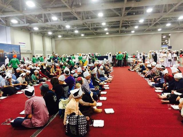 A langar (community kitchen) for nearly 7,000 attendees at the 2015 Parliament of World's Religions underway in Utah, a media report has said.