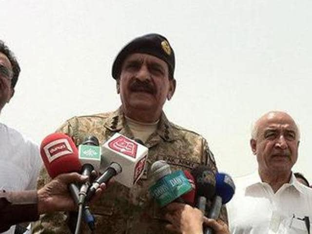 Lieutenant General Naseer Khan Janjua (centre), who retired from the military this week, will be appointed national security advisor soon.