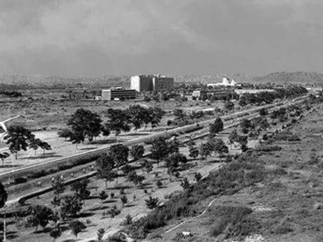 The poetry of the place, which featured hills in the background and balmy breezes softly caressing the foothills, was quite obscured by the sheer presumptuousness of creating a city, called Chandigarh, out of thin air.