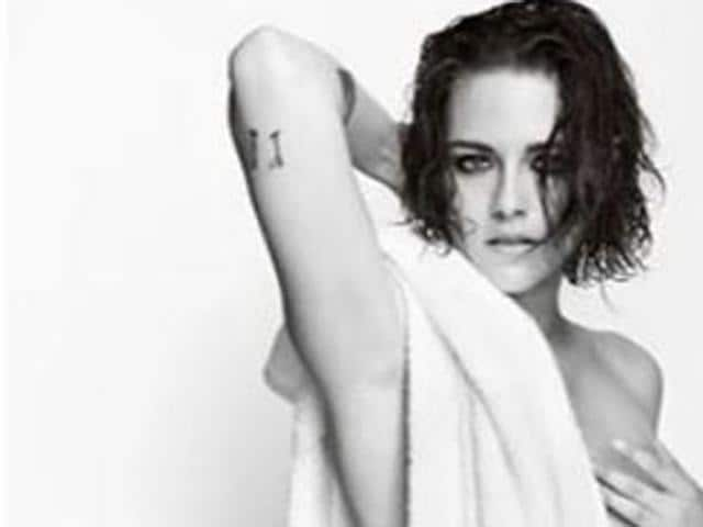Hollywood actor Kristen Stewart.