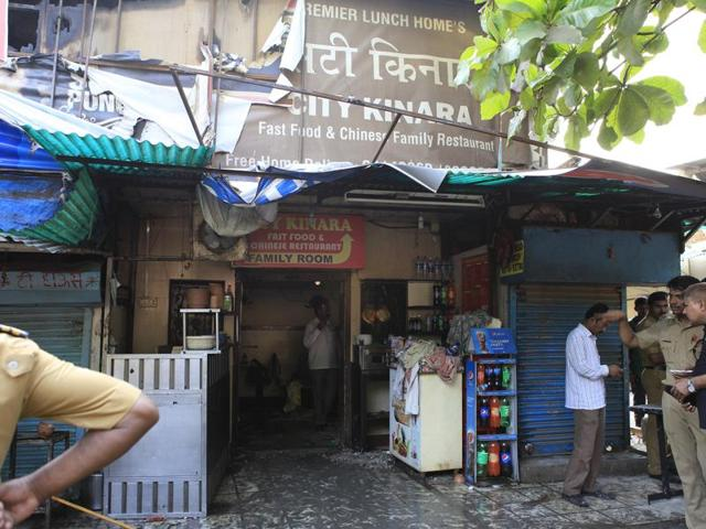 Police said those trapped in the Kurla restaurant fire kept banging on the windows for help.