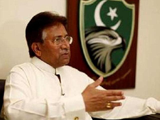Pakistan's former president General Pervez Musharraf.