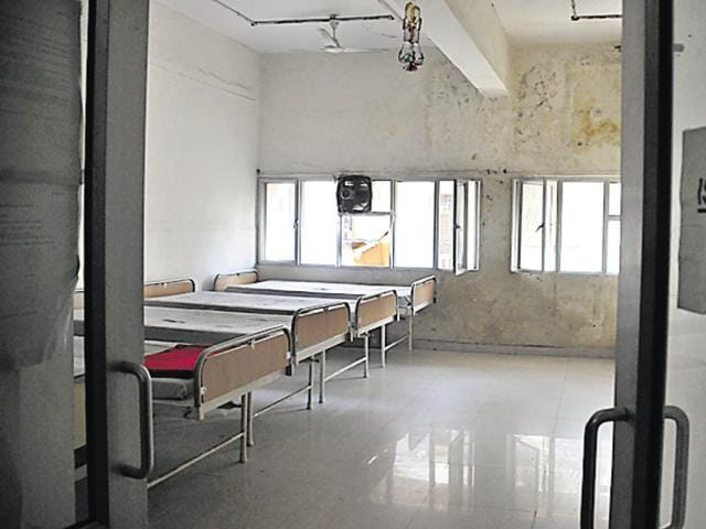 The Civil Hospital in Gurgaon has created a five-bed isolation ward for swine flu patients.