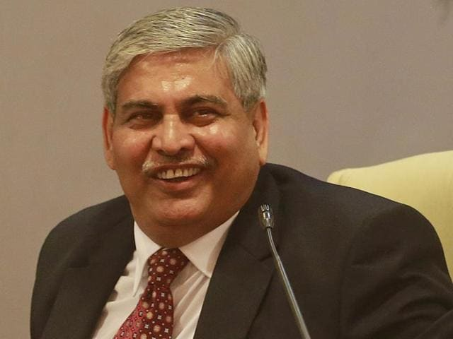 Newly-elected BCCI president Shashank Manohar during a press conference in Mumbai, on October 4, 2015.