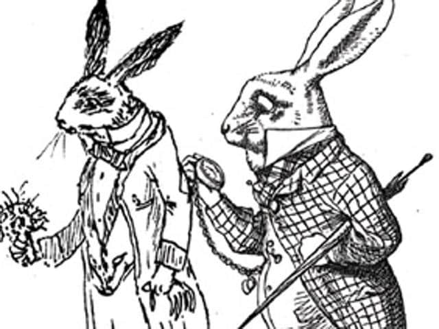 Alice in Wonderland,Lewis Carroll,Tintin