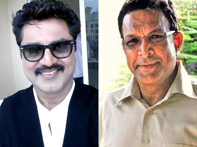 Character artist and senior in the profession, Nasser (right) ousted Sarath Kumar in a closely fought election with a margin of over 100 votes.