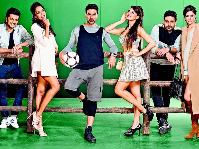 Starring Bollywood biggies like Akshay Kumar, Abhishek Bachchan, Lisa Haydon, Nargis Fakhri, Riteish Deshmukh and Jacqueline Fernandez — this will be the third instalment of the very successful Houseful franchise.