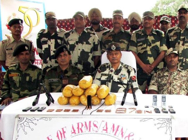 BSF,Border Security Force,Ammunition seized