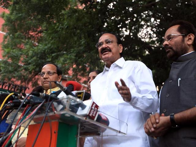 Union minister for urban development Venkaiah Naidu made the comments in the backdrop of the wider protest by writers and intellectuals against recent attacks on free speech in the country.