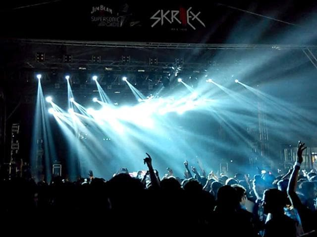 A 23-year-old woman died at the venue of the Skrillex concert in Gurgaon.