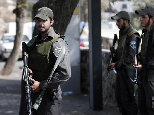 Israel,Gunman,Palestine