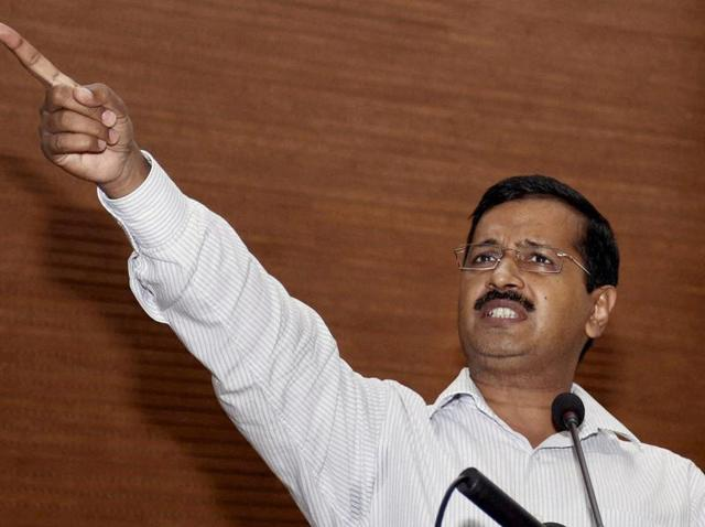 A file photo of Delhi chief minister Arvind Kejriwal.