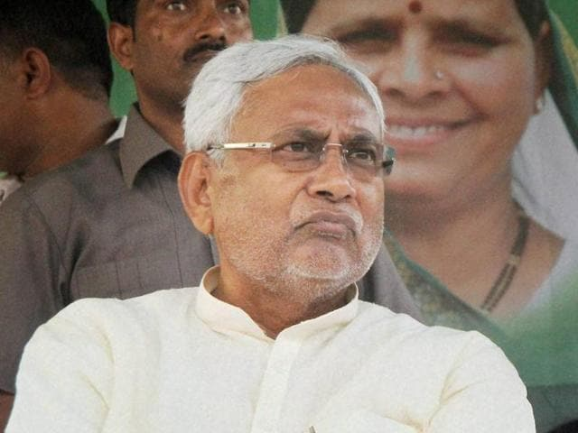Bihar chief minister Nitish Kumar attacked the BJP for pushing a communal agenda.