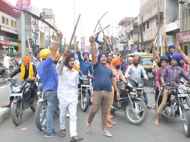 On Monday, when Amritsar witnessed a complete bandh, the private schools remained closed while the government schools kept awaiting the orders of the state government in this regard,