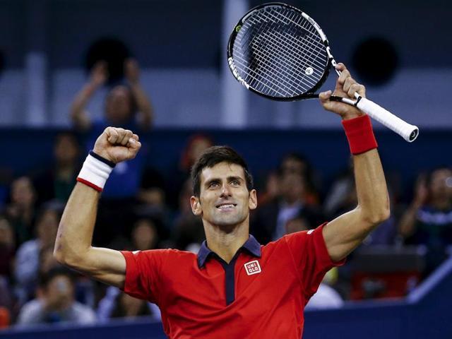 Novak Djokovic 2015 season,Shanghai Masters,Roger Federer