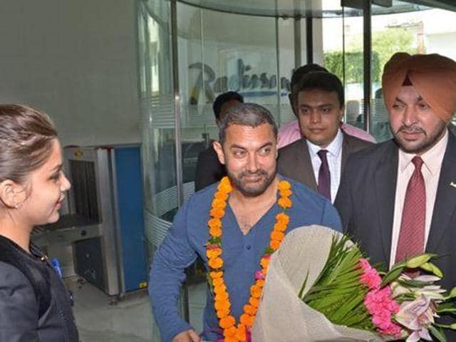 Aamir Khan will leave the city on November 18 to shoot for the remaining part of the film in Delhi and Pune.