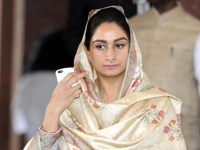 Harsimrat Kaur Badal demanded the harshest possible punishment for those who desecrated Guru Granth Sahib.