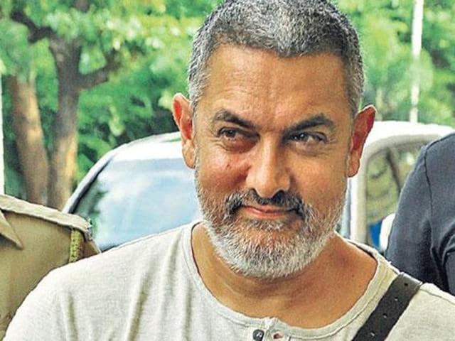 Aamir's look in Dangal.