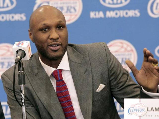 A file photo of former professional basketball player Lamar Odom.
