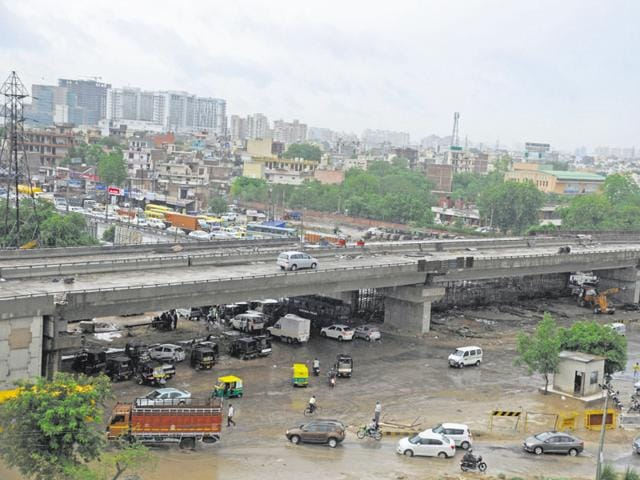 The recently-built Subhash Chowk flyover has proven to be a waste of money.