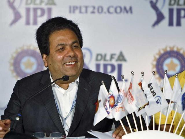 A file photo of IPL Chairman Rajiv Shukla.