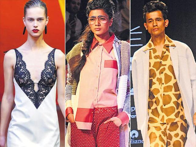 Designers across the globe are increasingly blurring the lines between nightwear and daywear.
