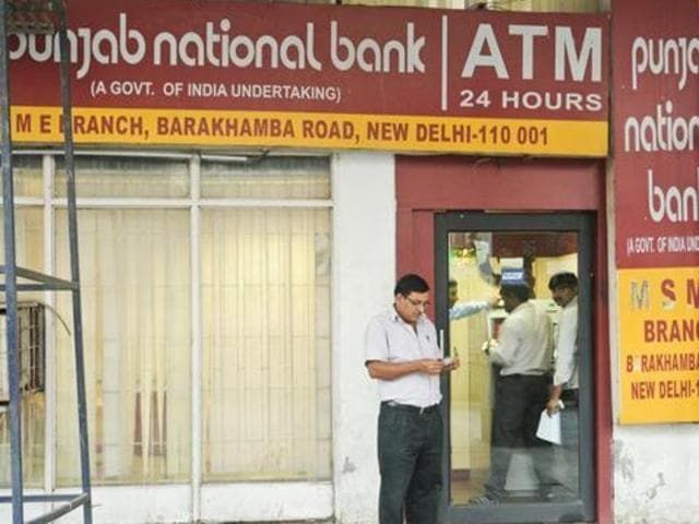 Punjab National Bank adopted two villages in Amritsar for complete solar lighting and launched free ATM cards with free cash, amounting to Rs 600 each to 60 needy girl  students.
