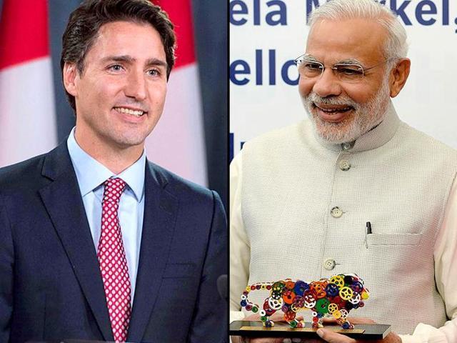 Justin Trudeau,Narendra Modi,India-Canada ties