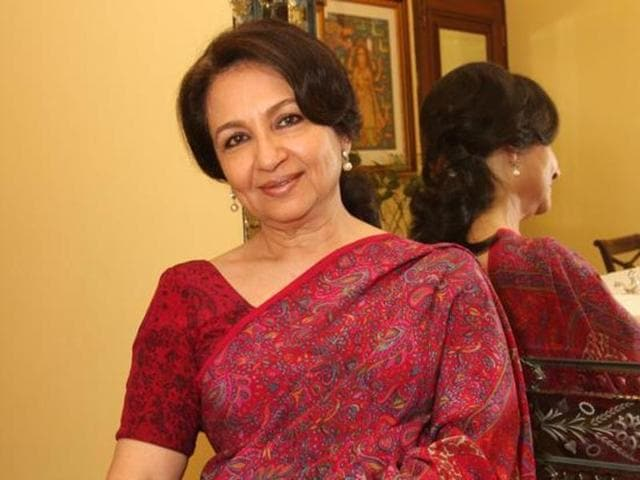 A file photo of Sharmila Tagore.