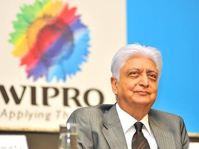 Wipro chairman Azim Premji at an event.