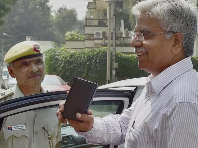 Delhi Police commissioner BS Bassi