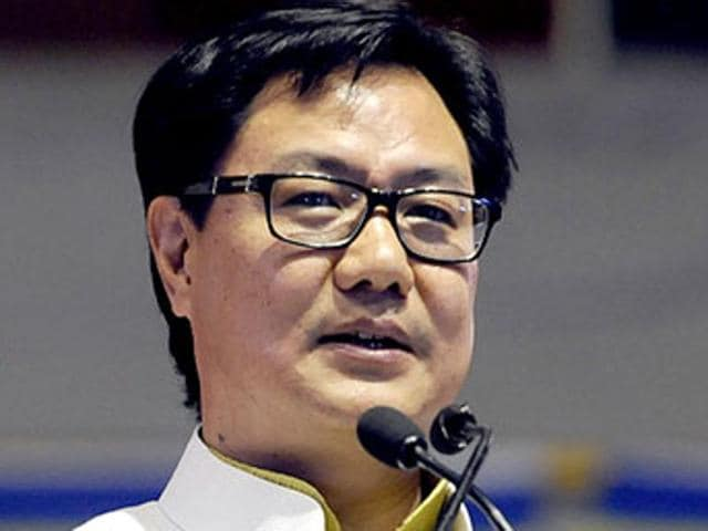 North Indians,Kiren Rijiju,Minister of state for home affairs