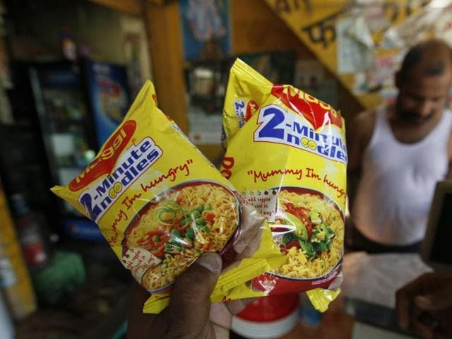 The Food Safety and Standards Authority of India (FSSAI) had banned Maggi in June.(Raj K Raj/HT Photo)