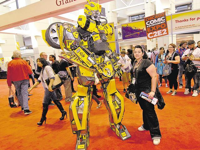 The international theatrical show will have Transformers characters Bumblebee, Optimus Prime and Megatron in action.