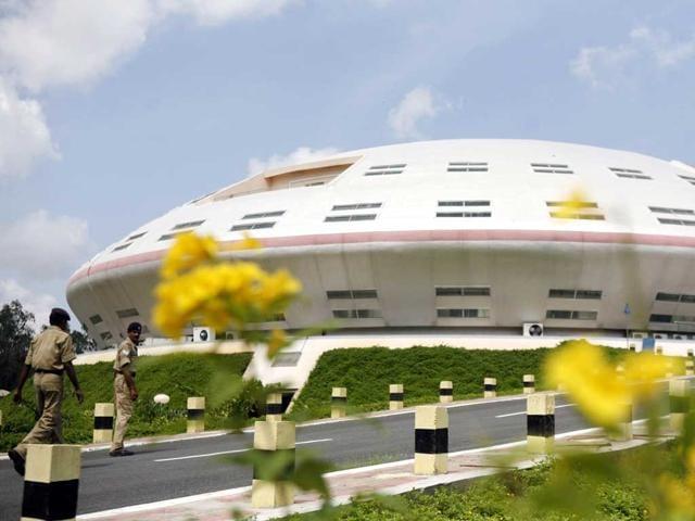 File photo of Satish Dhawan Space Centre in Sriharikota, Andhra Pradesh.
