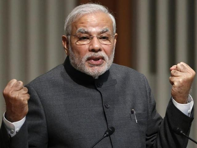 In all, Modi could address nearly 20 public meetings during the five-phase elections where canvassing ends on November 3.