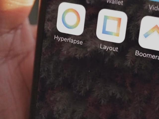 Boomerang is Instagram's third spin-off app after Hyperlapse, that lets users easily shoot time-lapse videos, and Layout, that allows them to create grids of images.