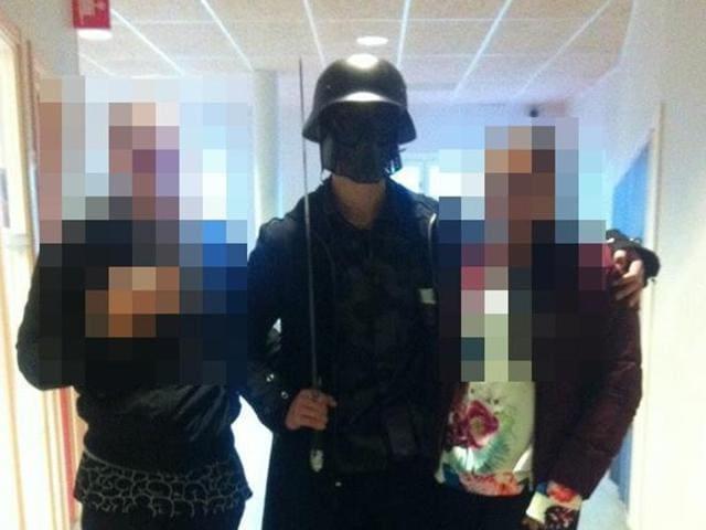 Swedish school attack,Assailant,Stabbings