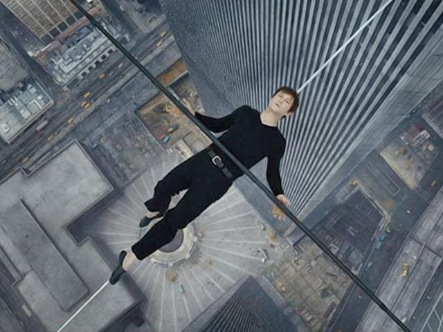 In 3D, and spectacular from frame to frame, The Walk is based on Philippe Petit's nail-biting biographical adventure, To Reach the Clouds.(TheWalkMovie/Facebook)