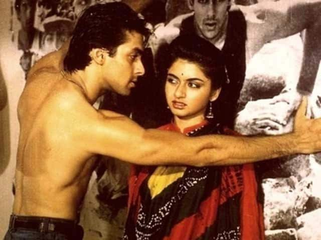 A still from Maine Pyar Kiya.