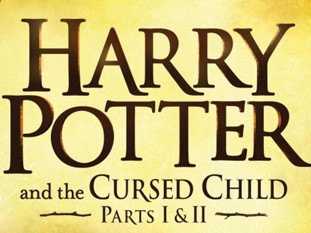 The first promotional material of the new Harry Potter play.