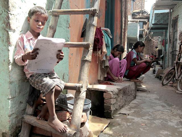 School textbooks,poor children,sold to scrap dealer