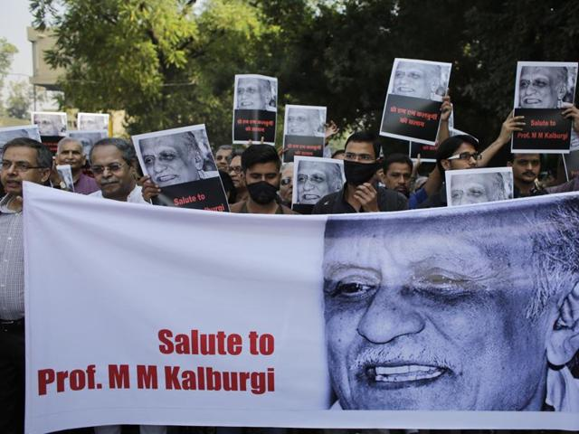 The attack on Prasad comes two months after Kannada author Prof. MMKalburgi's was murdered by unidentified gunmen.