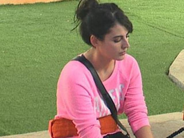 Digangana was upset as she wasn't allowed to take incense sticks and  pen-paper inside the house.