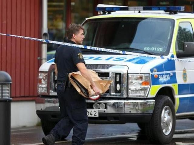 Sweden sword attack